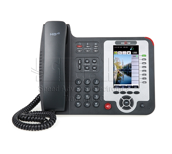 ES620-PEN IP Phone - Escene ES620-PEN Front view