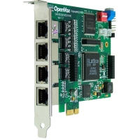 D410 Digital Card - OpenVox D410 4-E1 Digital PCI Express Card