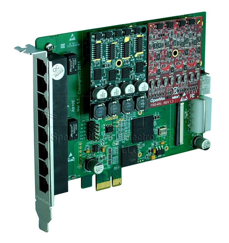 A810 Analog Card - OpenVox 8 Ports Aanalog PCI Express Card