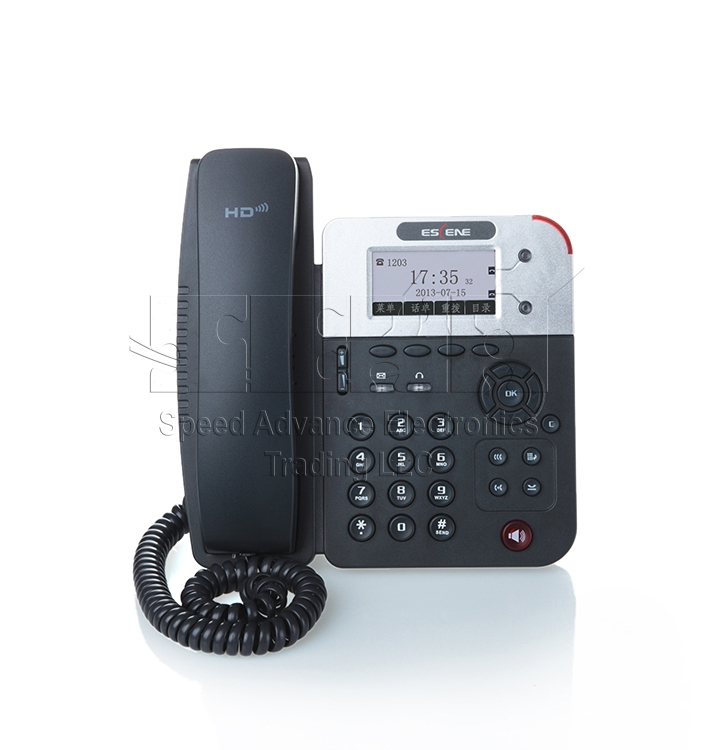 ES290-N IP Phone - Escene ES290-N Front view