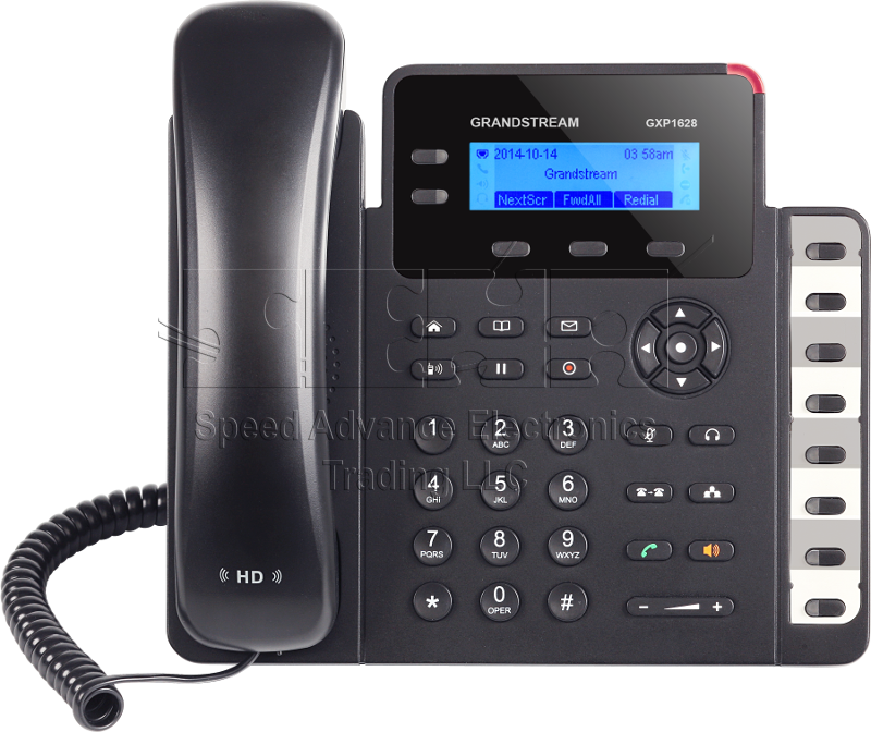 GXP1628 Gigabit IP Phone - Grandstream IP Phone - GXP1628