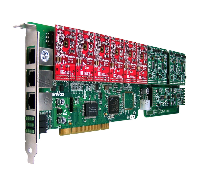 A1200 Analog Card - OpenVox 12 Ports FXO/FXS PCI Cards