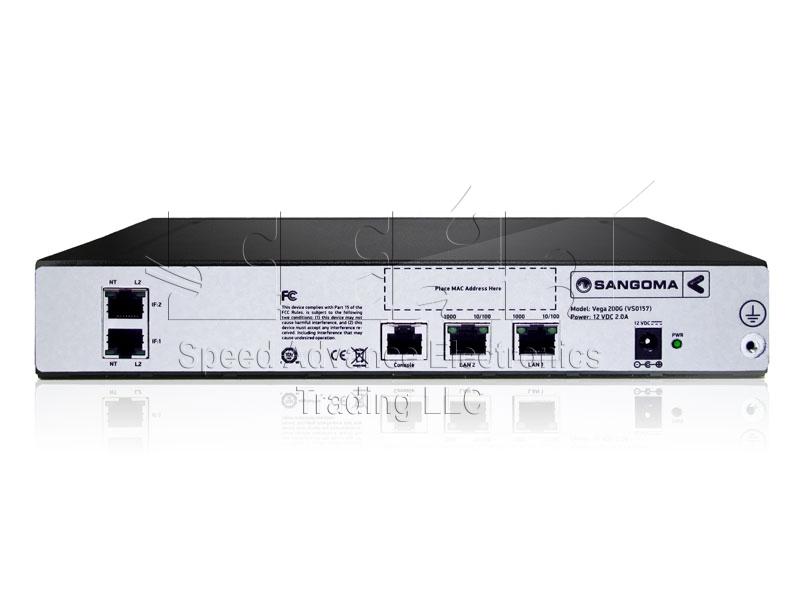 Vega 200G Digital Gateway - Sangoma vega 200G/2E1 gateway