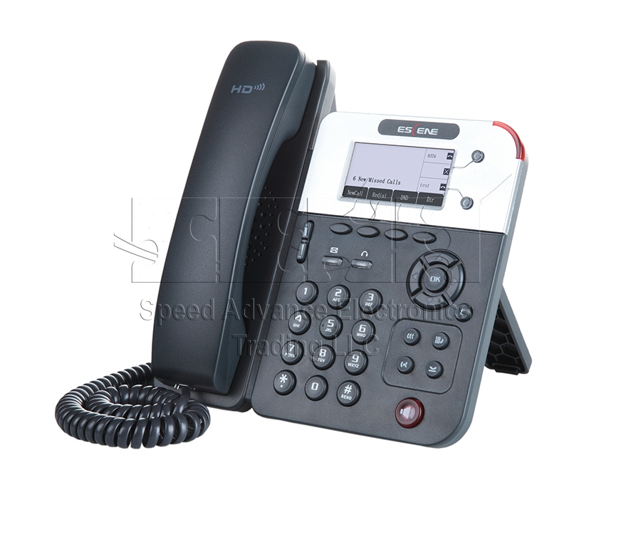 ES290-N IP Phone - Escene ES290-N Front side view