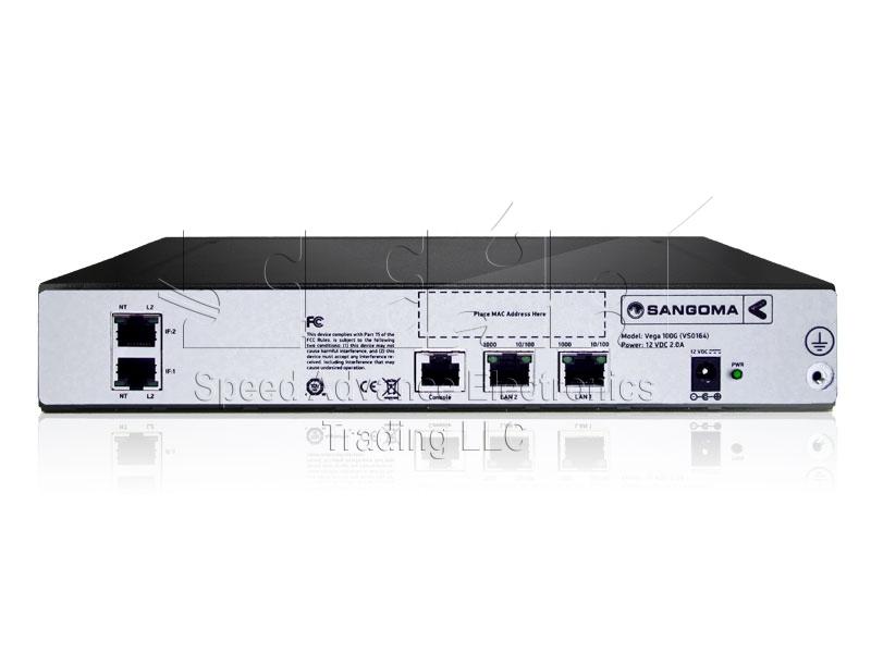 Vega 100G Digital Gateway - Sangoma vega 100G/ E1 gateway